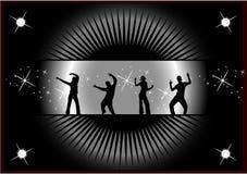 Scena della discoteca Fotografia Stock Libera da Diritti