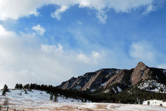 Scena della montagna del Colorado Fotografie Stock Libere da Diritti