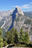 Scena della montagna del terreno boscoso Immagine Stock
