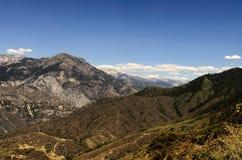 Scena della montagna di disaccordo del monarca Fotografie Stock Libere da Diritti