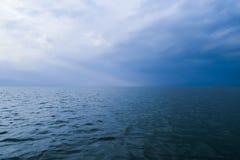 Scena della natura al lago Vittoria nel Kenya, Africa immagini stock