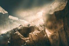 Scena della natura di simulazione della montagna Immagine Stock Libera da Diritti