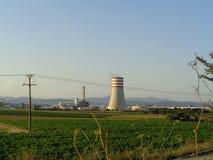Scena della natura della torre di raffreddamento fotografia stock libera da diritti