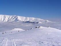 Scena della neve di inverno Immagine Stock Libera da Diritti