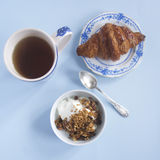 Scena della prima colazione Fotografie Stock