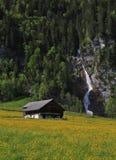 Scena della primavera nella valle di Kloental Immagine Stock