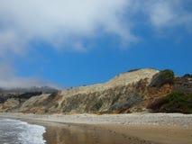 Scena della riva in Long Beach California Fotografie Stock
