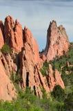 Scena della roccia Immagini Stock Libere da Diritti