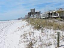 Scena della spiaggia Immagine Stock Libera da Diritti