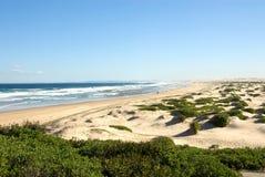 Scena della spiaggia Immagine Stock