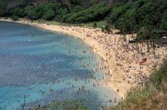 Scena della spiaggia Immagini Stock Libere da Diritti