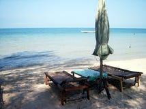 Scena della spiaggia Fotografia Stock Libera da Diritti