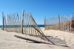 Scena della spiaggia del Capo Cod Immagini Stock