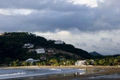 Scena della spiaggia della Nicaragua fotografia stock