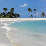 Scena della spiaggia delle Bahamas Immagine Stock Libera da Diritti