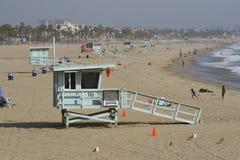 Scena della spiaggia di Calif Fotografia Stock Libera da Diritti