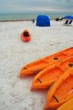 Scena della spiaggia, isola di luna di miele, Florida Fotografia Stock Libera da Diritti