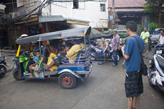 Scena della via Fotografie Stock Libere da Diritti
