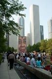 Scena della via della sosta di Millinium Immagine Stock Libera da Diritti