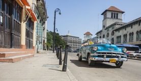 Scena della via di Avana Fotografia Stock Libera da Diritti