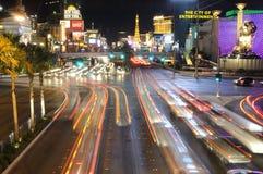Scena della via di Las Vegas Fotografia Stock Libera da Diritti
