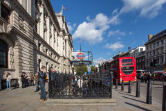 Scena della via di Londra Fotografia Stock Libera da Diritti