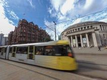 Scena della via di Manchester fotografia stock libera da diritti