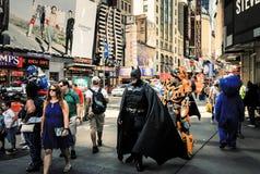 Scena della via di Manhattan Immagine Stock