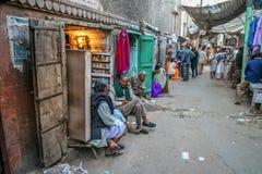 Scena della via di Quetta fotografie stock