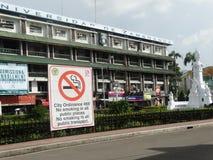 Scena della via di Zamboanga, Mindanao, Filippine fotografia stock libera da diritti
