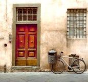 Scena della via in Italia Immagini Stock