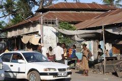Scena della via mombasa Immagini Stock Libere da Diritti