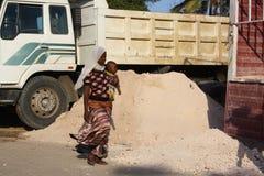 Scena della via mombasa Fotografie Stock