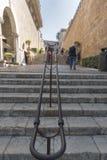 Scena della via in Palma De Mallorca Spain Fotografie Stock