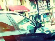 Scena della via a San Francisco Fotografie Stock Libere da Diritti