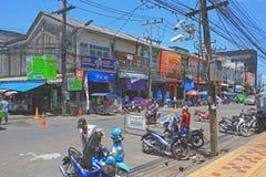 Scena della via, Tailandia Fotografie Stock Libere da Diritti