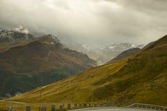 Scena delle alpi in Grossglockner Fotografia Stock