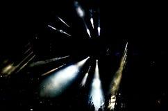 Scena di concerto fotografie stock