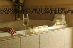 Scena di distensione della vasca da bagno Fotografia Stock