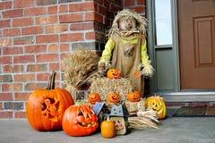 Scena di Halloween Fotografie Stock