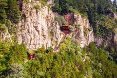 Scena di Hengshan della montagna (grande montagna nordica). Fotografia Stock Libera da Diritti