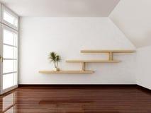 Scena di interior design illustrazione vettoriale