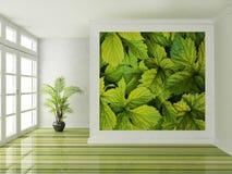 Scena di interior design illustrazione di stock