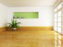 Scena di interior design Fotografia Stock