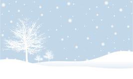 Scena di inverno Immagine Stock