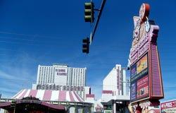 Scena di Las Vegas fotografie stock libere da diritti