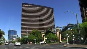 Scena di Las Vegas Blvd stock footage