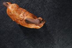 Scena di legno del modello del cavallo Fotografia Stock