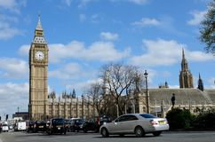 Scena di Londra Fotografia Stock Libera da Diritti
