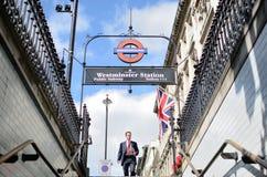Scena di Londra Immagini Stock Libere da Diritti